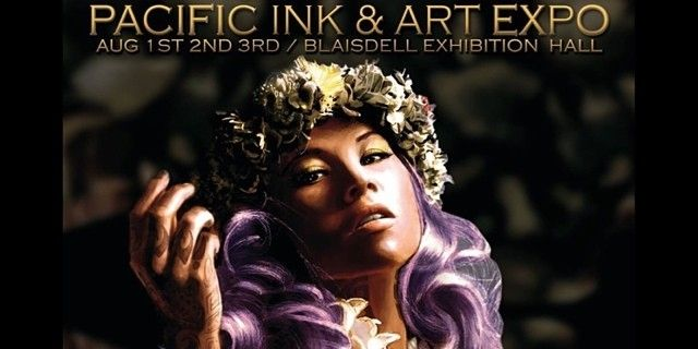 """ Pacific Ink & Art Expo is coming this week!!  "" 今週末は「パシフィック・インク&アート・エキスポ2014」 