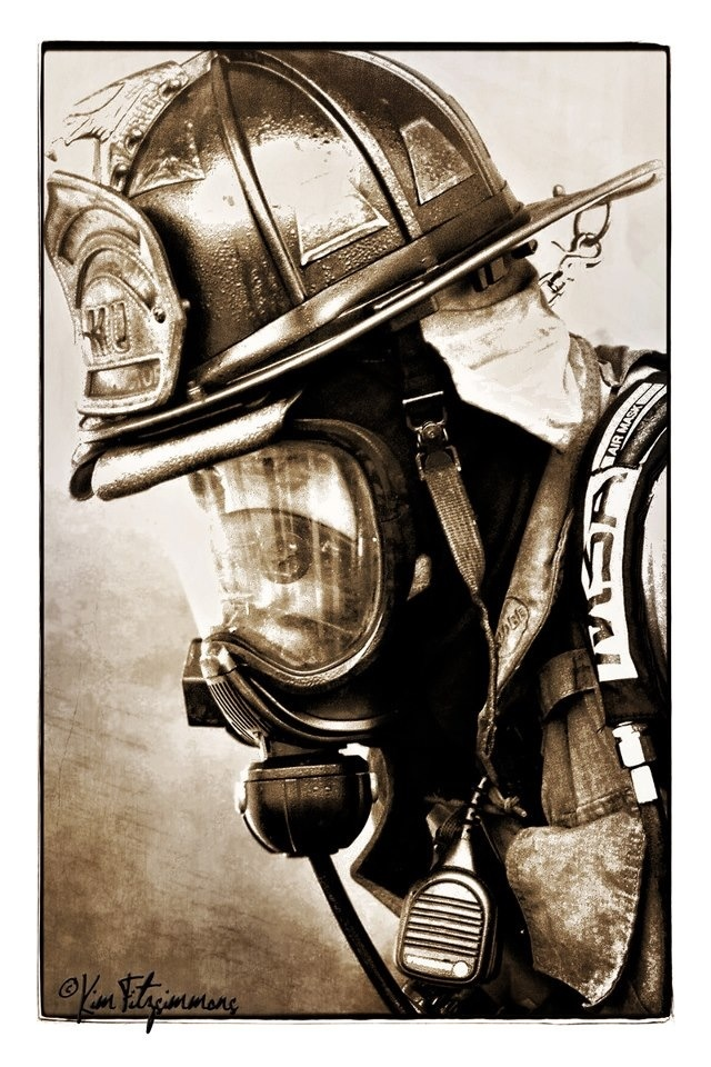 Firefighter  Photo by: Kim Fitzsimmons