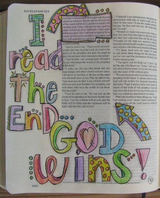 Scrappin' Becky B.: Bible Journaling