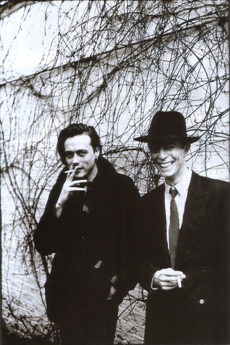 Brett Anderson; David Bowie by Anton Corbijn