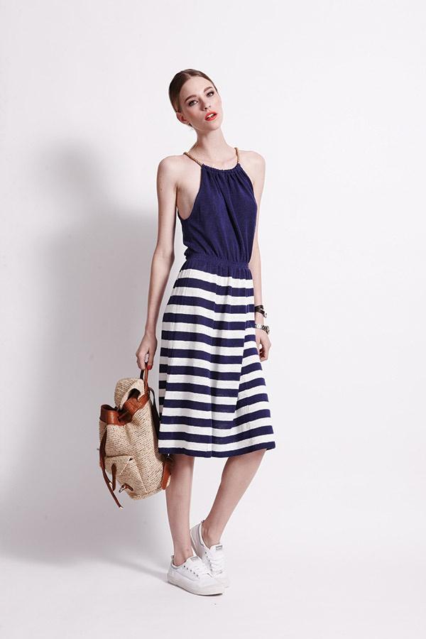 @banjoandmatilda Menton Dress - Sailor - 100% Linen