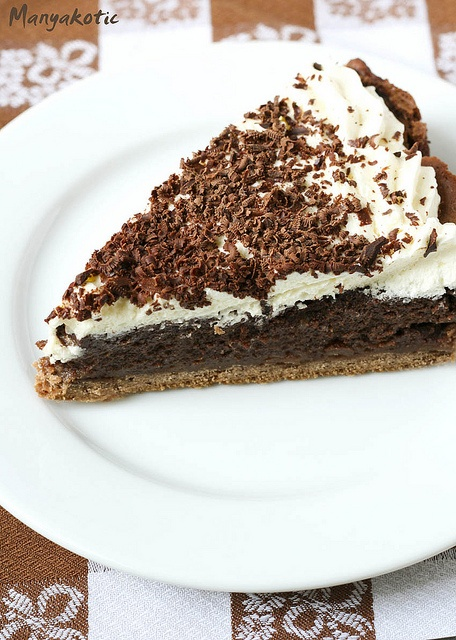 "Пирог ""Миссисипи"" / Mississippi mud pie. Вкусно, но жутко вредно. Но очень вкусно..."