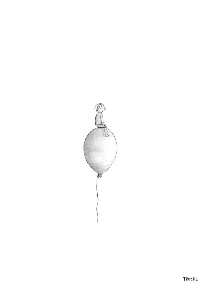 Volando en mi mundo | Troche http://portroche.blogspot.com.ar