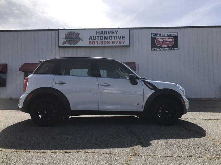 Clean Title! Very clean car! This LOADED Mini Cooper S Countryman All4 AWD comes with all the options youve been wanting! It has Leather, heated seats, Automatic Transmission with select shift sport mode, Harman Kardon Stereo, dual panel panoramic moon roofs, and more!!! Call or text today and schedule your test drive!! 801-808-9797  Every Vehicle professionally detailed by Attention to Detail www.a2dutah.com