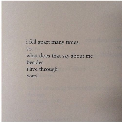 From Salt, by Nayyirah Waheed