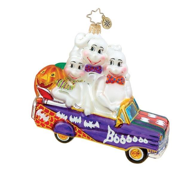 Image detail for -Christopher Radko Halloween Ornament - Booo Mobile