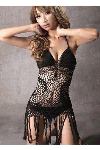 Charming Knitted One Piece #Fringe #Bikini#Women's #Fashion #Cheap #Swimwear #2014 #Tankini,#Trends #Bathing #Suits #One #Piece #Modest,#Cut #Cover #Ups,#Teens,#Bikini #Babes,#Sexy #Big #Busts. catchfad.com