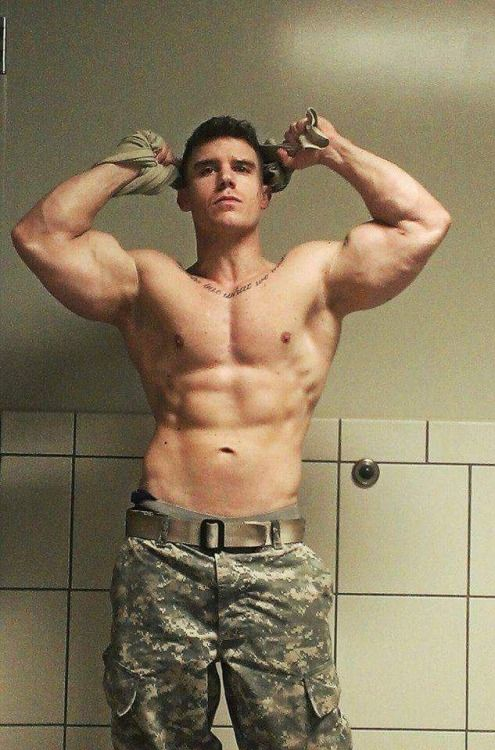 gay male army