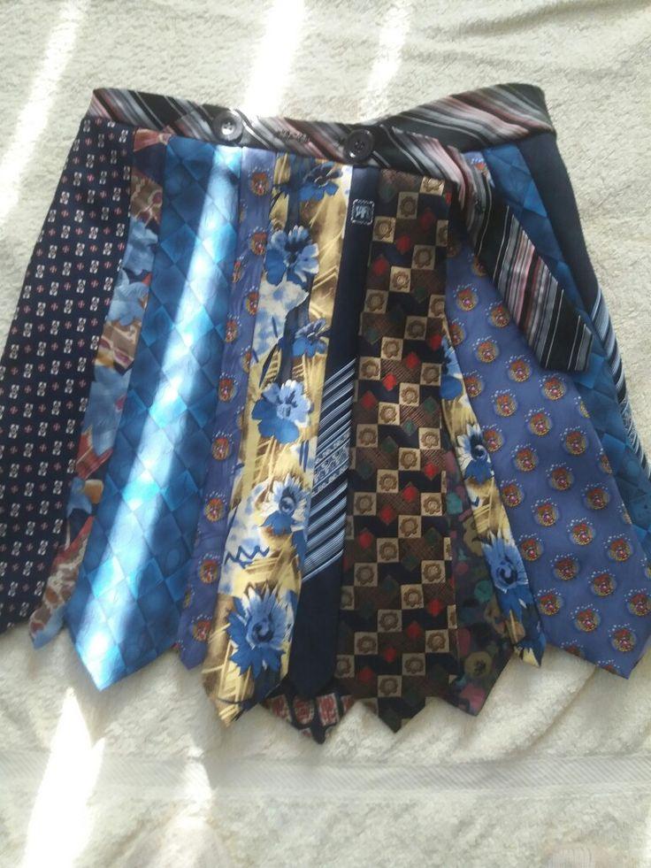 Wrap around neck  tie  skirt