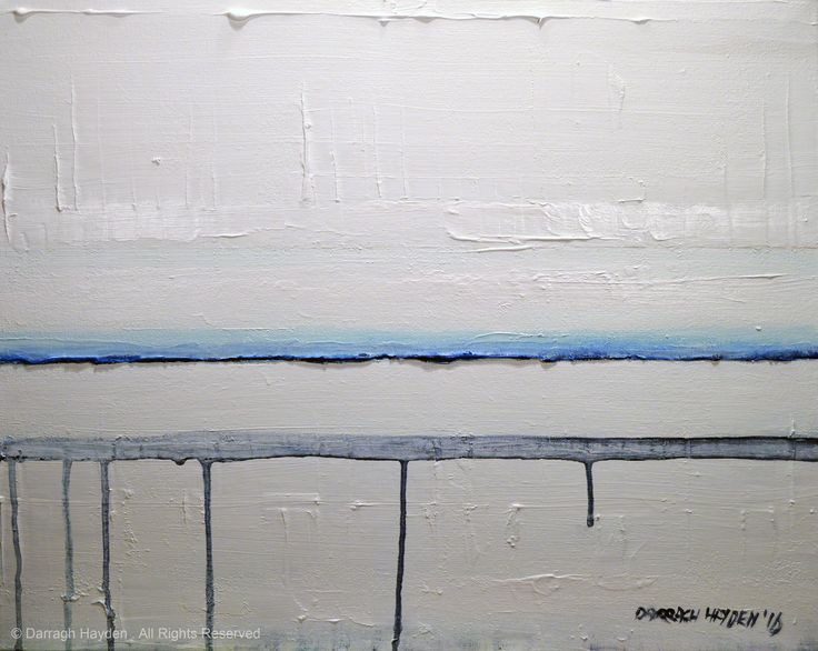 Blue Horizontal 0116 by Darragh Hayden.Acrylic on canvas.Enquire about this artwork