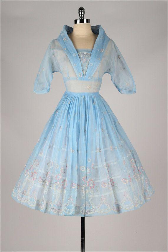 ~vintage 1950s dress~