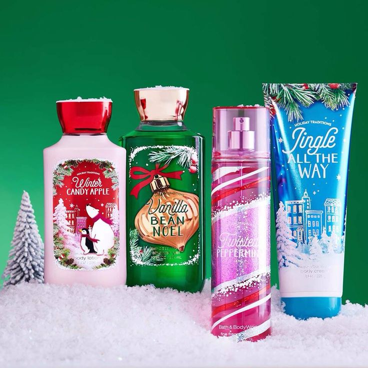 Holiday Collection 2015 Winter Candy Apple Vanilla Bean