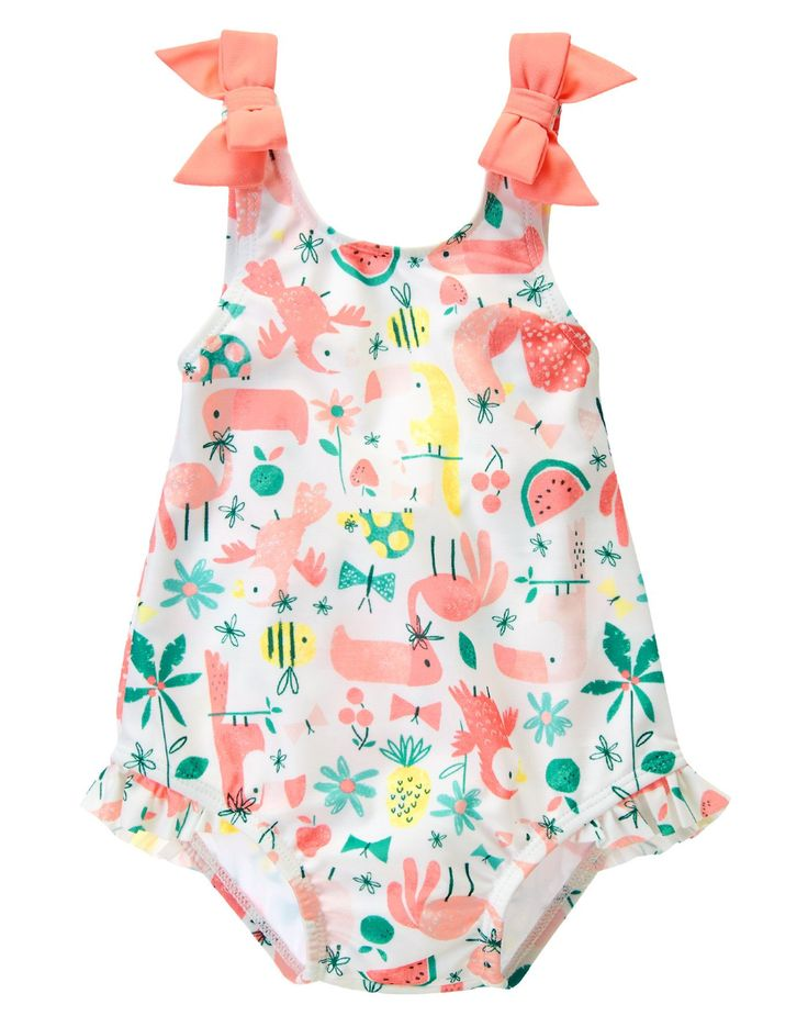 Rainforest One-Piece Swimsuit