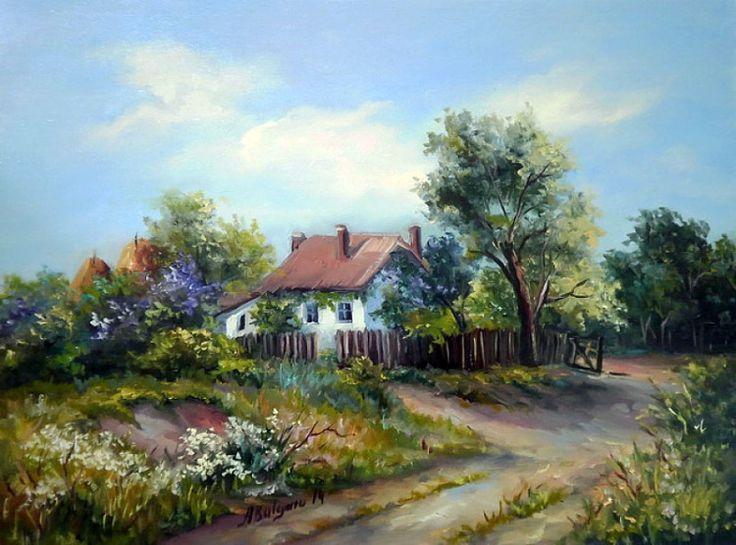 Gallery.ru  - Весна - царица возрожденья. Художница Anca Bulgaru