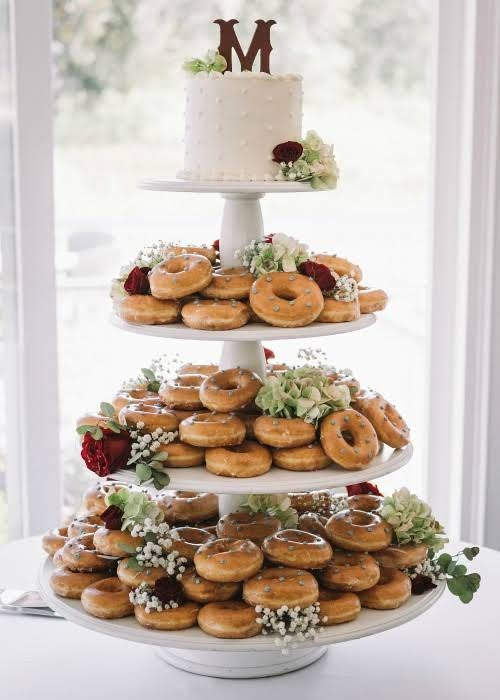Best 25 Wedding Donuts Ideas On Pinterest Donut Bar
