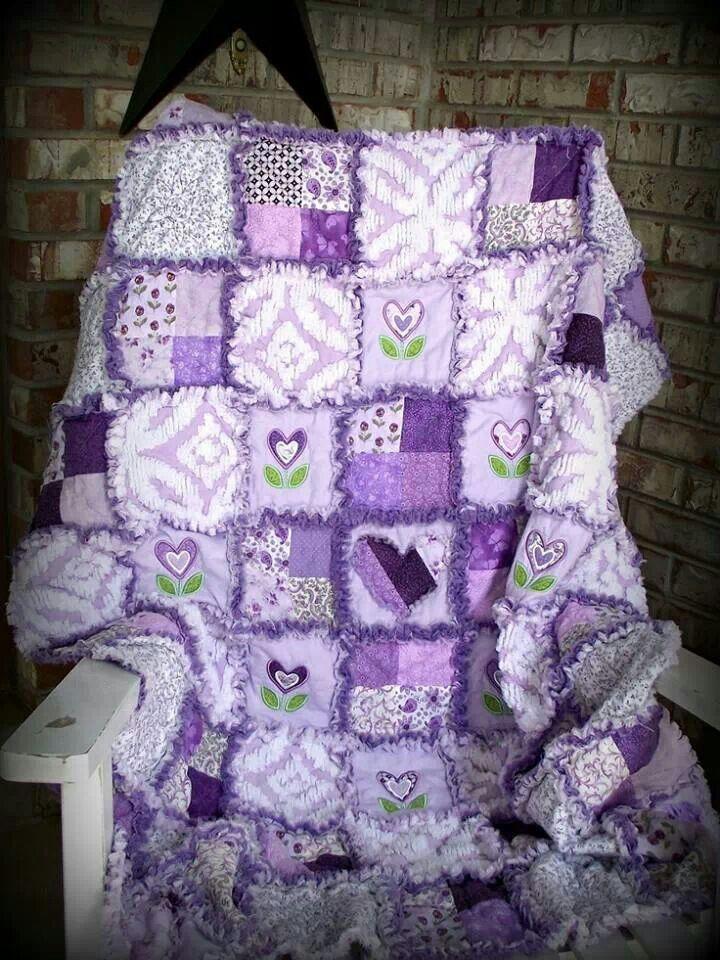 Purple quilt...I love this!!!