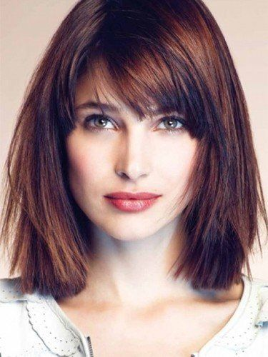 Cute Long Haircuts Long Bob Hairstyles Pictures Of Long Bob Haircuts With Bangs