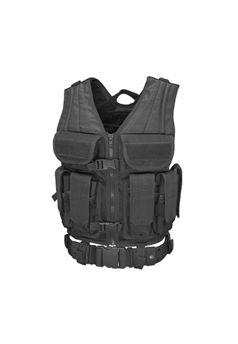Condor Elite Tactical Black Vest ! Buy Now at gorillasurplus.com