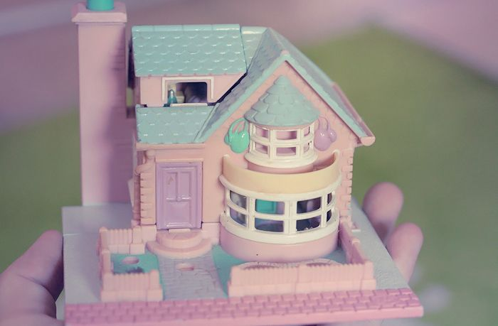 Polly Pocket vintage # les maisons
