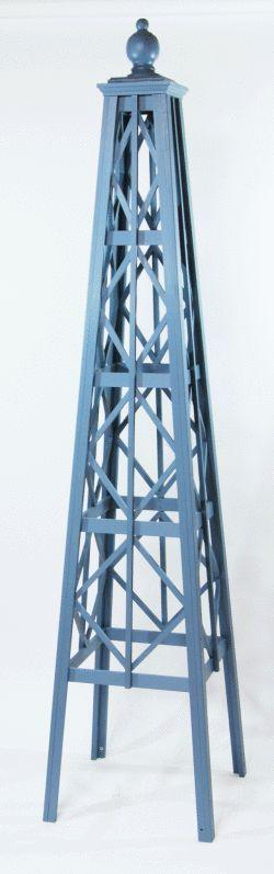 オベリスク ピラミッドタイプ 「ダイヤモンド」サイズ:L(高さ192cm、幅43cm、奥行き43cm)