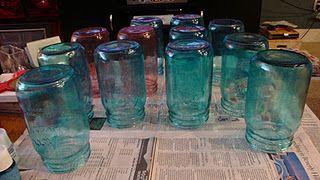 DIY Colored Mason Jars :  wedding decor diy malibu tutorial Dsc012302 DSC012302