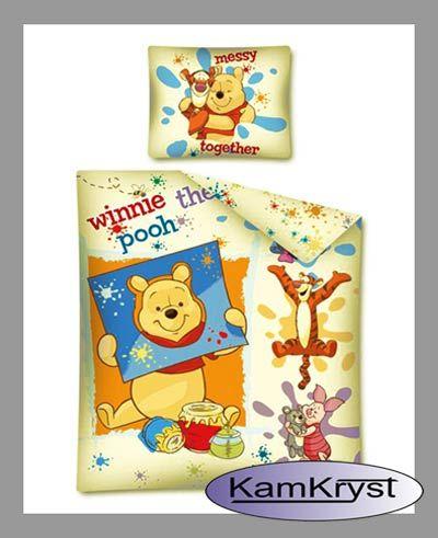 Bedding Pooh 140x200 | Pościel Puchatek 140x200 w sklepie KamKryst