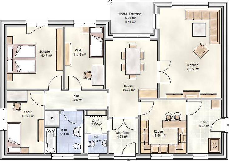 die besten 25 winkelbungalow grundriss ideen auf. Black Bedroom Furniture Sets. Home Design Ideas