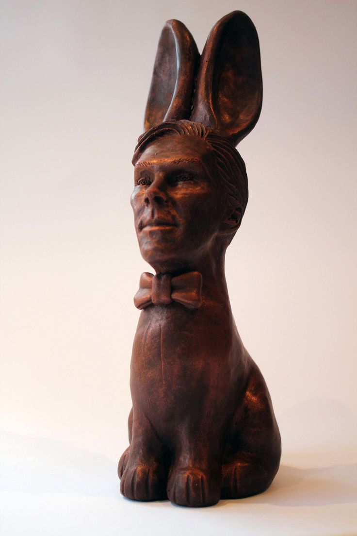 Made with real belgian chocolate this fun chocolate animals make - Chocolate Cumberbunny