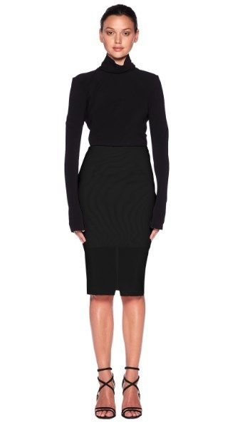 Ja Ja Binx Power Mesh Skirt by bec and bridge