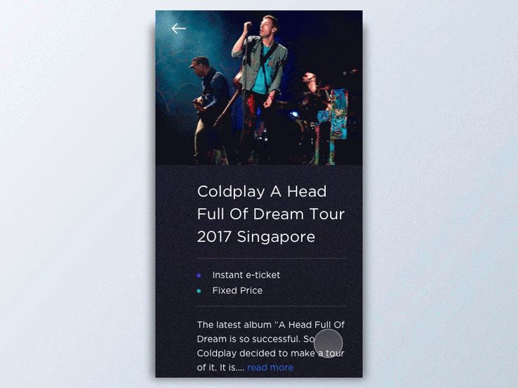 Exploration - Concert Booking App by Dimas Wibowo
