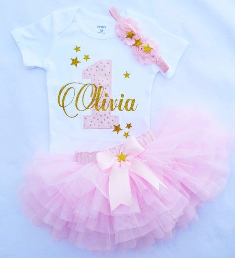 first birthday outfit girl,pink gold birthday outfit,twinkle twinkle little star birthday outfit,cake smash outfit girl,1st birthday girl by KidsFunLand on Etsy https://www.etsy.com/listing/474254433/first-birthday-outfit-girlpink-gold
