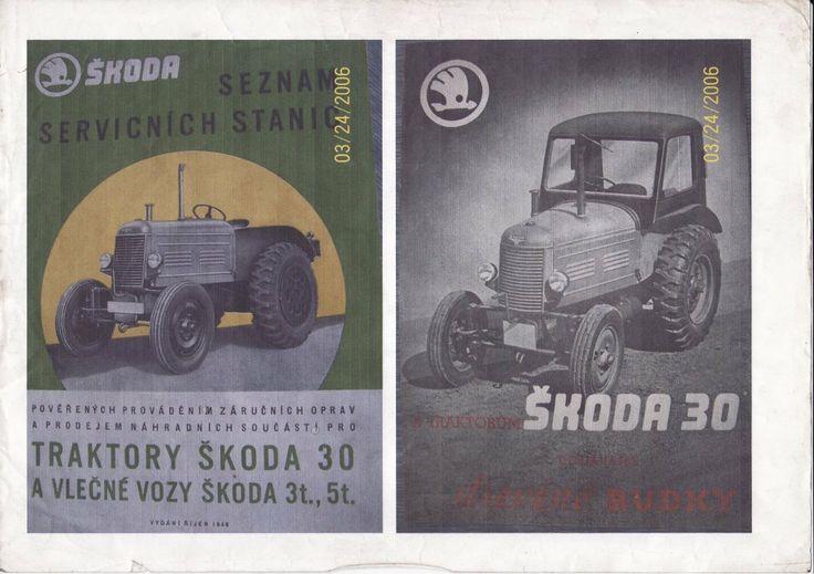 Škoda TR 30 manual