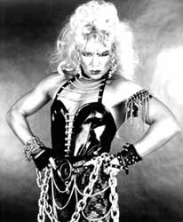 90's Wrestler Luna Vachon of The WWF.