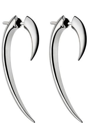 LOVING THIS: Shaun Leane Signature Tusk #Earrings Silver - SLS266 #jewelry #fashion