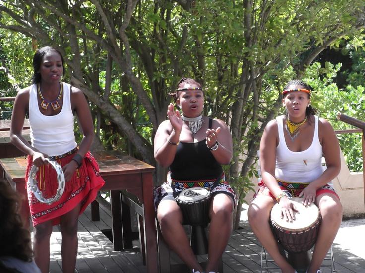 Moyo Restaurant dancers at Kirstenbosch Gardens