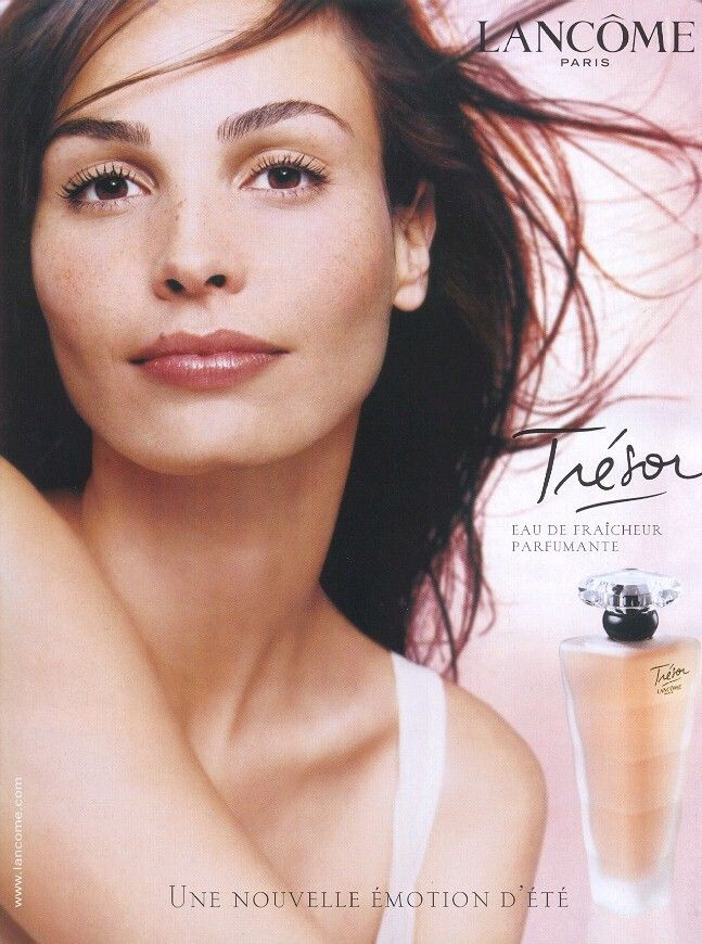 Ines Sastre for Lancome