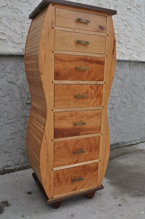 Lingerie Cabinet   Cherry   For Sale