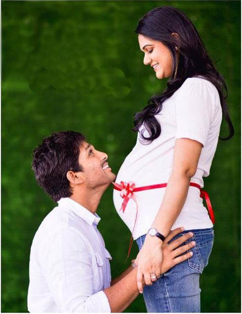 Allu Arjun wife Sneha's Pregnancy - read complete story at The Hans India http://www.thehansindia.com/posts/index/2014-03-25/Allu-Arjun-cant-wait-to-be-father-Photo-feature-90048