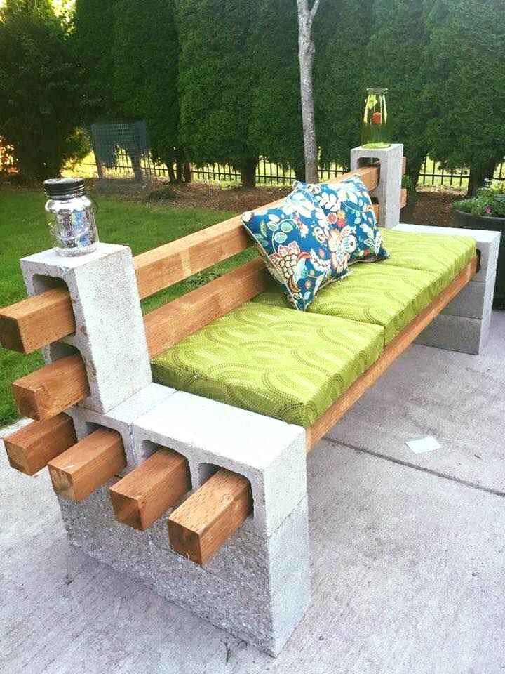 Great #DIY bench for your garden