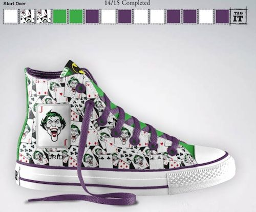 4ee418596c6a Converse Design Your Own Sneakers Uk  DC and Converse Collaborate Let You Design  Your Own