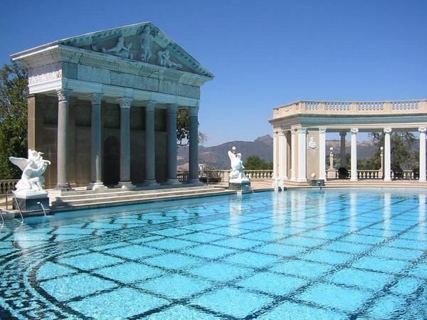 Homes with amazing back yards including olympic size pools for Pool design course