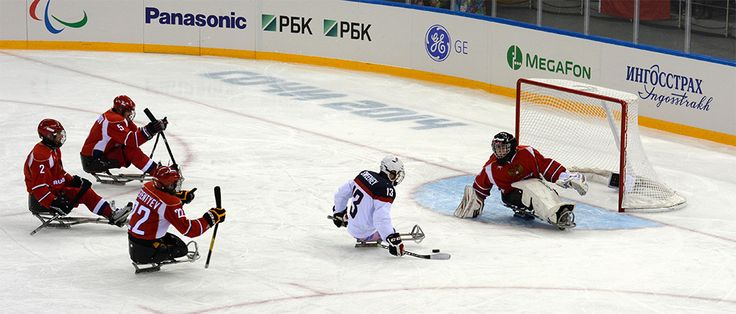 See the full recap from Team USA's #sledhockey gold medal defeat of Russia at pbs.org/icewarriors #paralympics