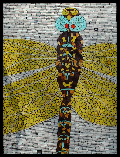 61 Best Images About Dragonfly Mosaics On Pinterest