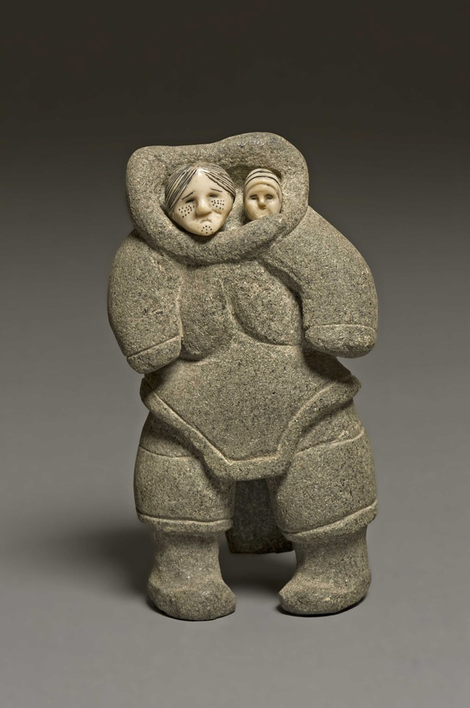 """See it in the exhibition, """"Creation and Transformation: Defining Moments in Inuit Art,"""" on now thru April 14 at the @Winnipeg Art Gallery."""