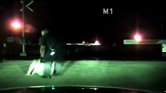 Officer pulls woman from railroad tracks seconds before train arrives   News  - Home