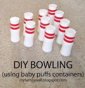 DIY Bowling Set