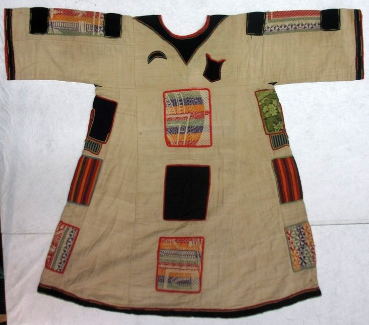 Sudanese cotton tunic decorated with wool patches are known as Jibbas and are associated with the Mahdi of Sudan. In 1881 Muhammad Ahmad, a Sufi leader proclaimed himself 'prophesied redeemer of Islam' or Mahdi. He led a holy war against the Ottoman-Egyptian ruling class of Sudan gaining control of Khartoum in 1885. He died shortly after but the Mahdist state survived until 1898.