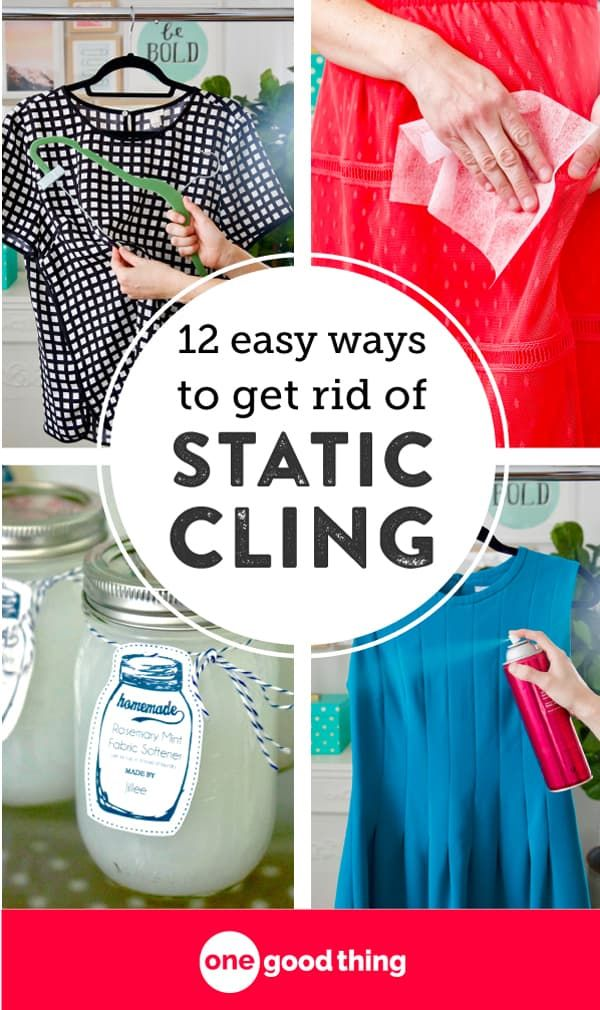 Static Buildup On Your Clothes Is Annoying Get Simple Tips That Will Help You Get Rid Of Static On Your Static Clothes Static Cling Remove Static From Clothes