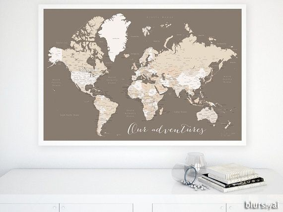 Best 25 World maps with countries ideas on Pinterest  Live map