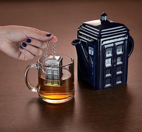 Doctor Who TARDIS Tea Infuser
